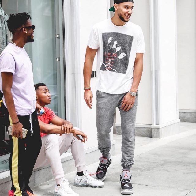 jordan black cement 3 outfit