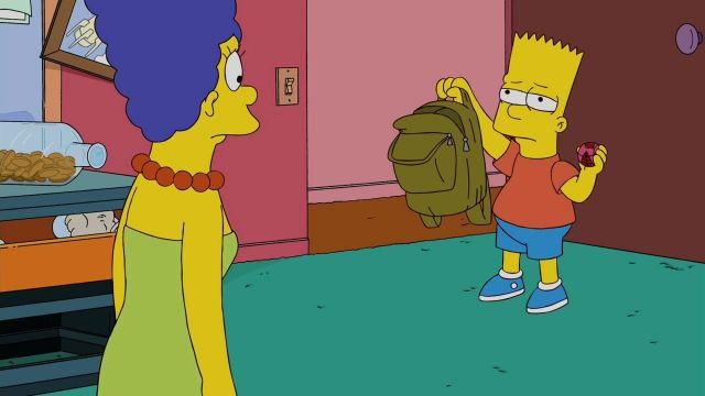 Disguise Bart Simpson in The Simpsons S21E18