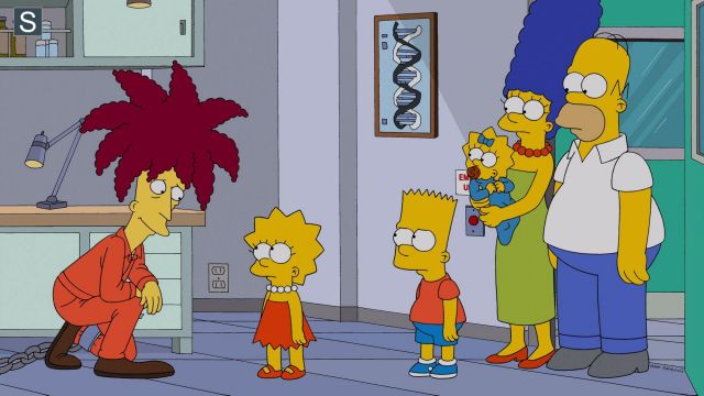 The wig of red hair from Tahiti Bob in The Simpson S25E13