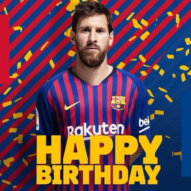 size 40 9320e b8400 The jersey of FC Barcelona 2018/2019 worn by Lionel Messi on ...