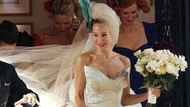 Carry Bradshaw Wedding Dress.The Corset Of The Wedding Dress Vivienne Westwood Carrie Bradshaw