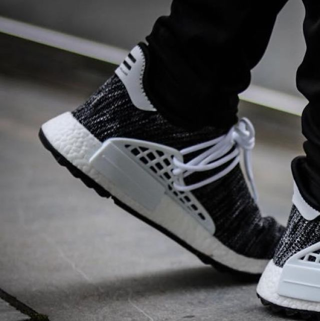 timeless design ca168 69650 The adidas Human Race NMD Pharrell color Oreo the young ...