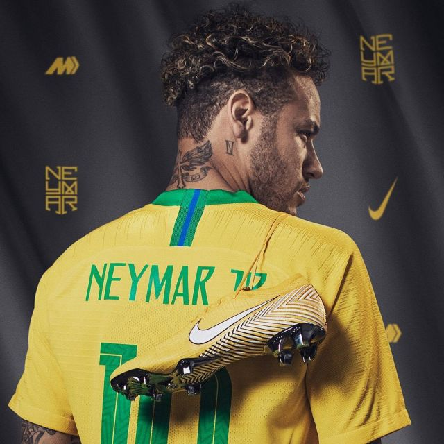 graduate School Flock canal  Cleats Nike Mercurial Vapor 360 elite Neymar during the World Cup 2018 |  Spotern