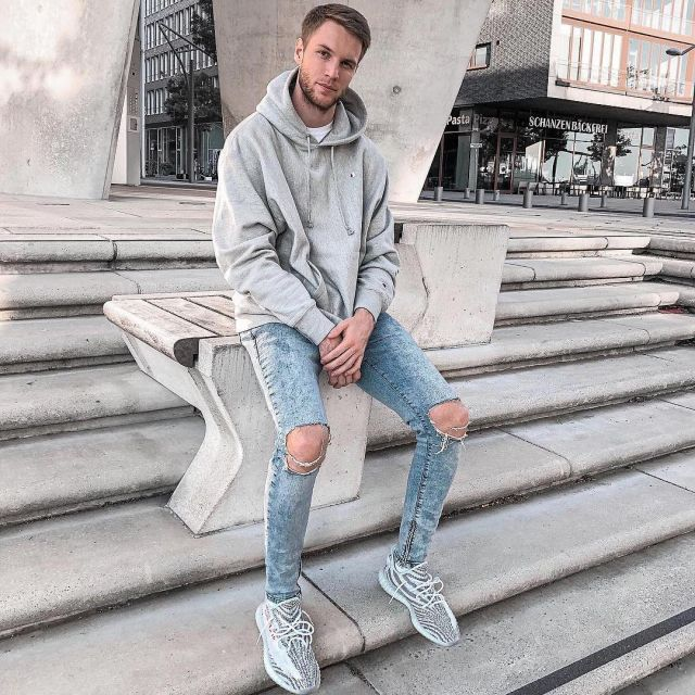 blue tint yeezy outfit off 61% - www