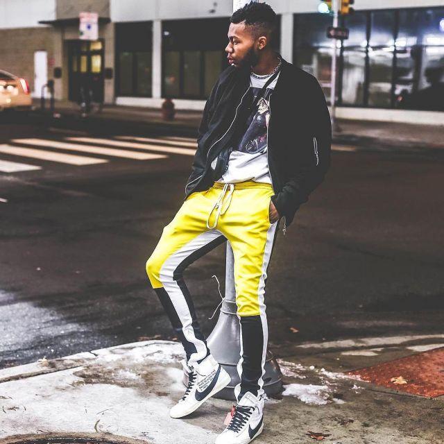 L Nike Mid Que Les Porte Off Blanches Sneakers Blazer White wP80nOkX
