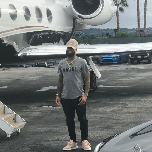 Beckham Portées 1 Nikelab Odell Low Jr Air Par Force Les Sneakers OkPn0w8
