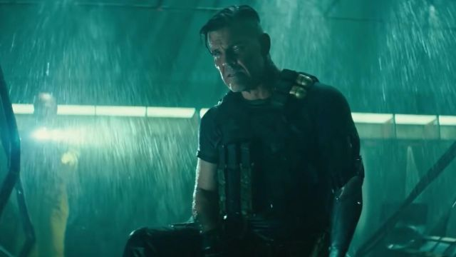 The T-shirt worn by Cable (Josh Brolin) in Deadpool 2
