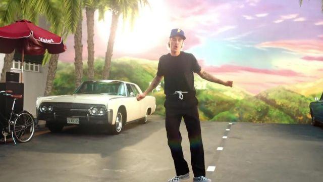 """Le pantalon noir de Justin Bieber dans le video clip """"No Brainer"""" de DJ Khaled"""