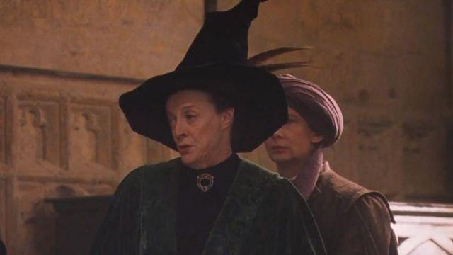 Le chapeau de Minerva McGonagall (Maggie Smith) dans Harry Potter à l'école des sorciers