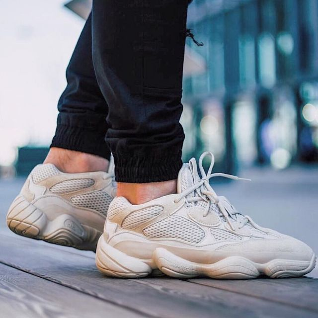 low priced 3c6f9 ef776 Sneakers white Adidas yeezy 500 desert rat sostyle_off on ...