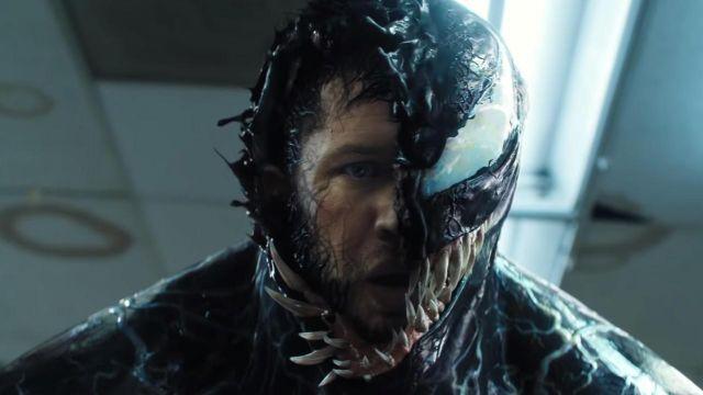 Le venin Eddie Brock (Tom Hardy) la transformation de