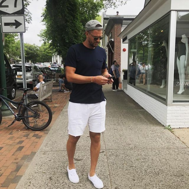 Sneakers Vans Authentic blanches worn by Chandler Parsons on his ...