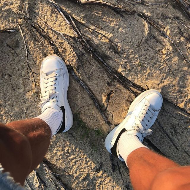 sneakers white Alexander MCQueen of Robiño (@lbbrobin) on