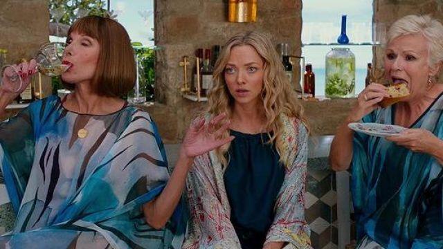 kimono worn by Amanda Seyfried (Sophie) as seen in Mamma Mia! Here We Go Again