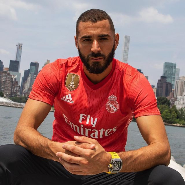 Maillot Real Madrid Third Rouge Saison 20182019