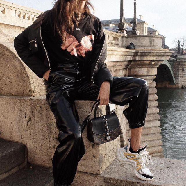 Sneakers white Louis Vuitton LV