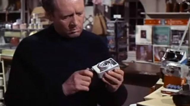 Canon Dial 35 Camera used by Number Six (Patrick McGoohan) as seen in The Prisoner S01E07