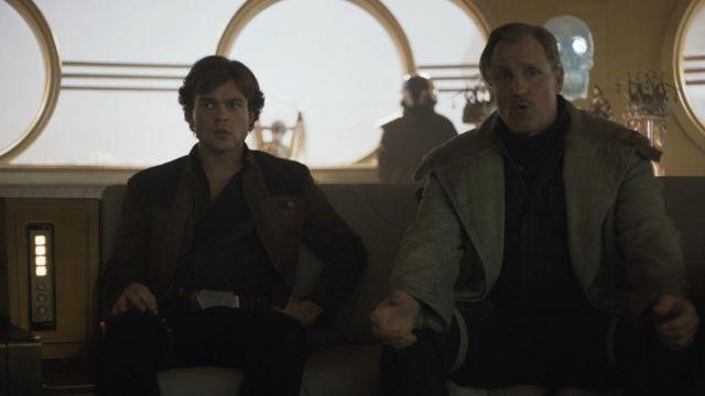 Suede Jacket worn by Han Solo (Alden Ehrenreich) as seen in Solo: A Star Wars Story