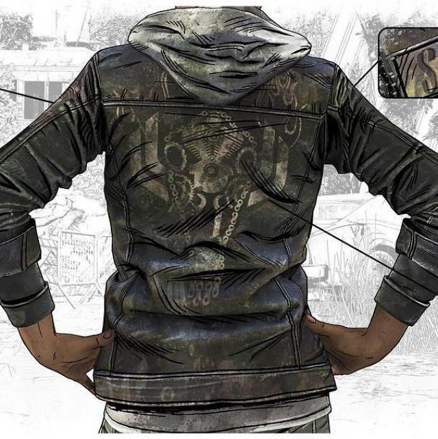 Jacket Worn By Clementine As Seen In The Walking Dead The