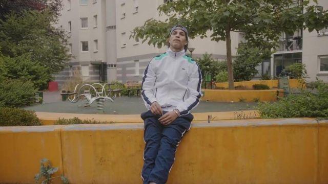 Le survêtement Lacoste porté par Moha La Squale dans son clip Luna