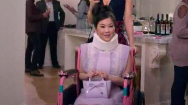 The Dress Sandro Dixie Sinclair Irene Choi In Insatiable S01e10 Spotern Come in | irene choi. dress sandro dixie sinclair irene choi