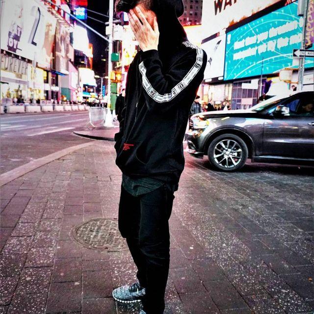 Sneakers black Adidas Ultra Boost ATR
