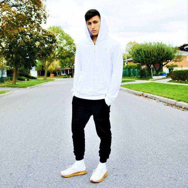 Sneakers white high tops Puma x Han
