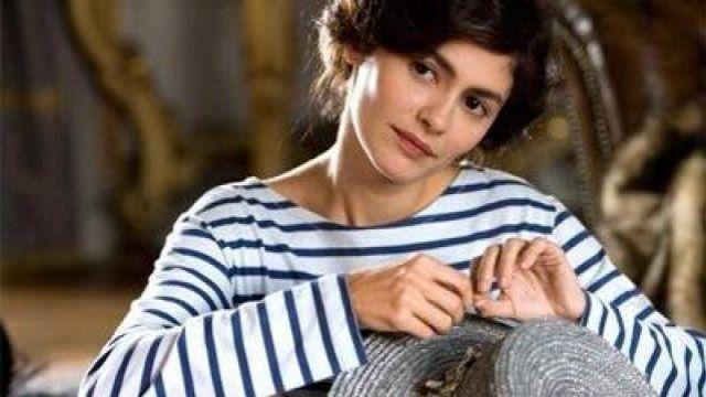 La marinière portée par Gabrielle Chanel (Audrey Tautou) dans Coco avant Chanel