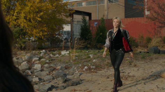 Le pantalon en cuir RtA Brand de Lou (Cate Blanchett) dans Ocean's 8
