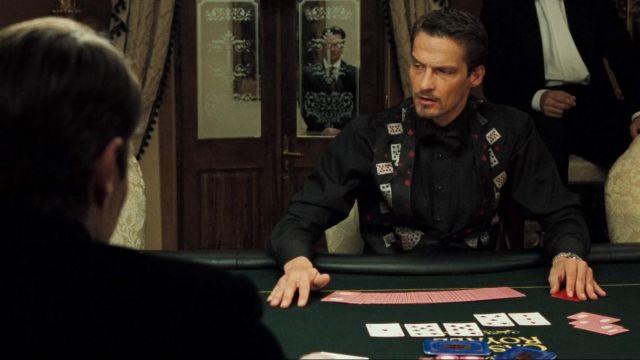 casino royale card dealer