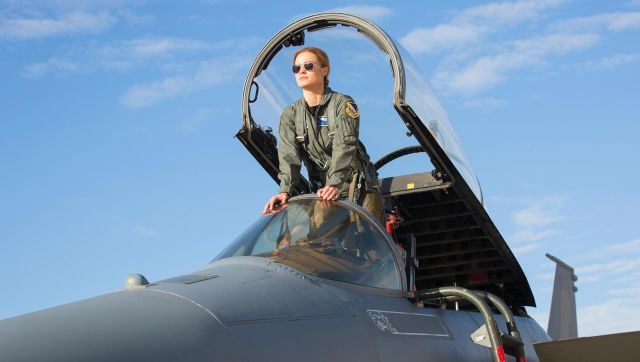 Flight Suit Us Air Force Carol Danvers Brie Larson In Captain Marvel Spotern A wide variety of captain marvel costume options are available to you, such as supply type, costumes type, and holiday. flight suit us air force carol danvers