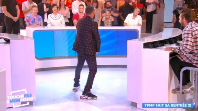 Les sneakers Balenciaga de Cyril Hanouna dans Touche pas à mon poste du 3 septembre 2018