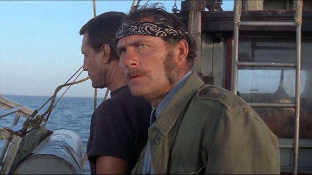 Le bandana noir de Quint (Robert Shaw) dans Les Dents de la mer