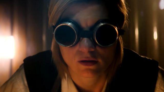 Les lunettes de protection steampunk du 13ème Docteur (Jodie Whittaker) dans Doctor Who