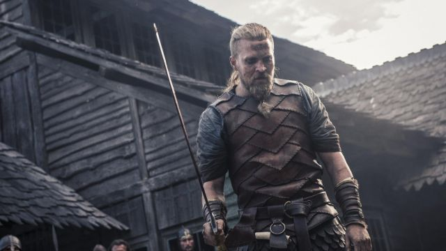 The sword in the viking Ragnar the Young (Tobias Santelmann