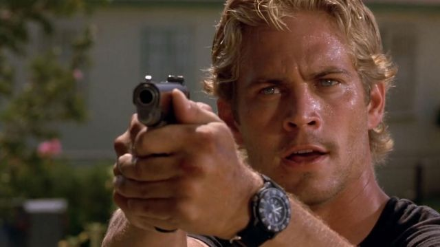 The shows of Brian O'conner (Paul Walker) in Fast and Furious