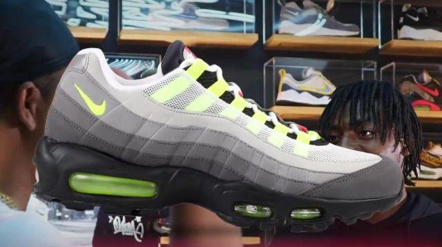 taille 40 8c51e 61ddd les baskets grises Nike Air max 95 OG greedy de Baloo dans ...