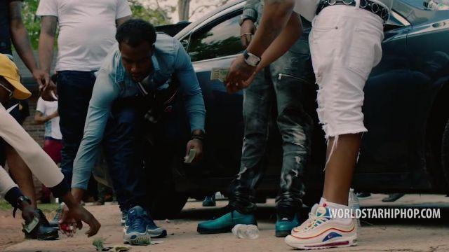 Les sneakers Nike Air Max 97 SE dans le clip Southside de Lil Baby (WSHH Exclusive)