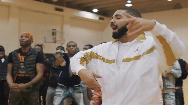 La veste Jordan X OVO de Drake dans le clip Look Alive avec BlocBoy JB