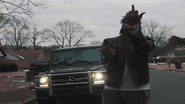 La réplique du SUV Mercedes-Benz G-CLASS dans le clip Look Alive de BlocBoy JB & Drake