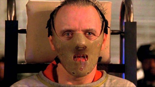 Le masque d'Hannibal Lecter dans le film Le silence des agneaux