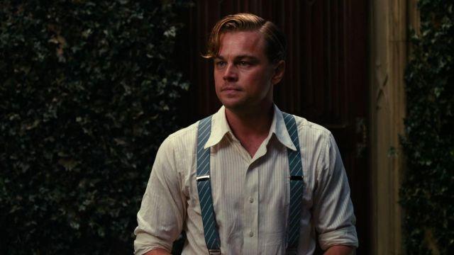 Straps of Jay Gatsby (Leonardo DiCaprio) in the great Gatsby