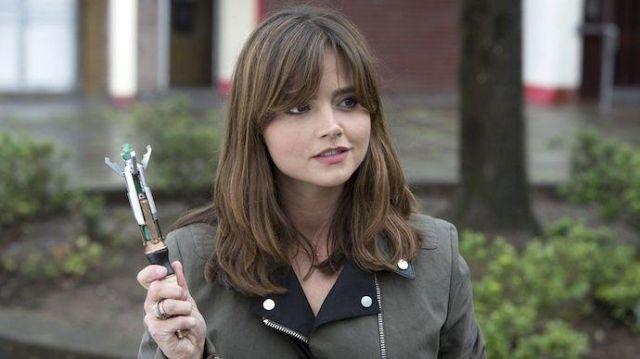 La réplique du Tournevis Sonique du 12ème docteur utilisé par Clara (Jenna Coleman) dans Dr Who S08E09