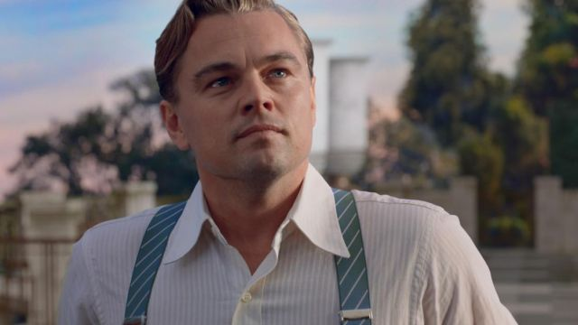 Jay Gatsby's (Leonardo DiCaprio) shirt as seen in The Great Gatsby