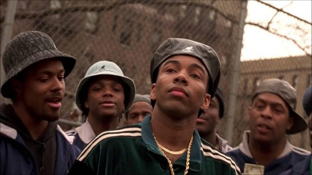 The beret Kangol leather worn by Gee Money (Allen Payne) in New Jack City