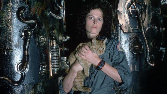 Le costume de Ripley (Sigourney Weaver) dans Alien, le huitième passager