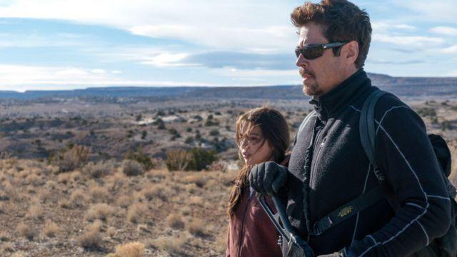 Backpack worn by Alejandro (Benicio Del Toro) as seen in Sicario: Day of the Soldado
