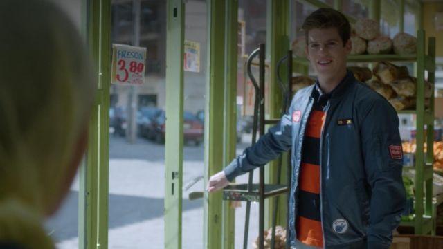 Veste portée par Guzmán (Miguel Bernardeau) dans l'Élite S01E02