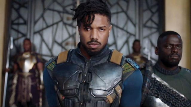 Leather Vest worn by Erik Killmonger (Michael B. Jordan) as seen in Black Panther