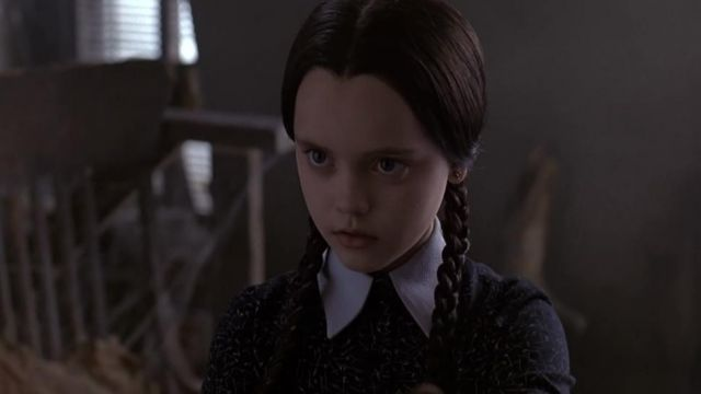 The Dress Worship Wednesday Addams Christina Ricci In The